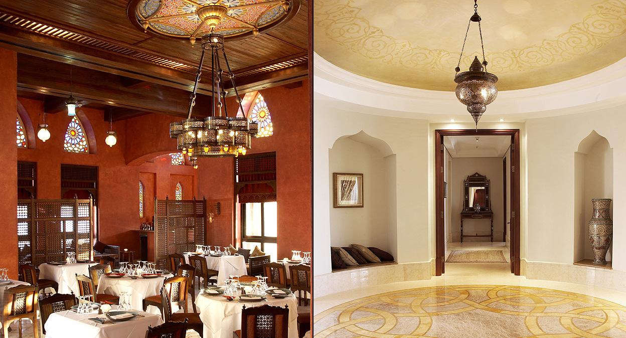 Interior design intercontinental the palace egypt for Interior design egypt