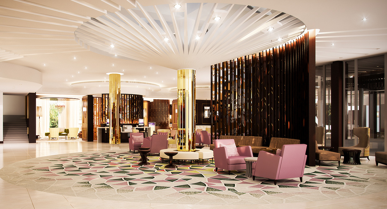 Interior Design Sheraton Abuja Nigeria